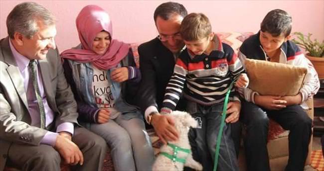 Hayvansever Ömer'e Erdoğan'dan hediye