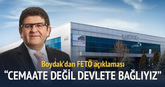 Mustafa Boydak'tan flaş FETÖ açıklaması