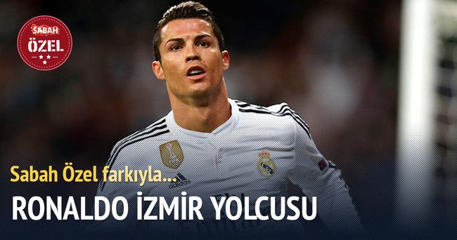 Ronaldo İzmir yolcusu