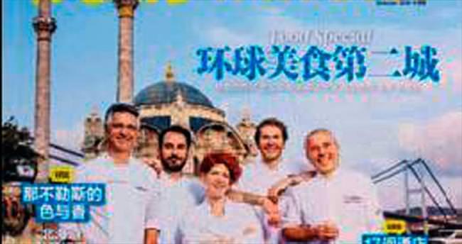 İstanbul'un ünlü lezzetleri Çin dergisinde