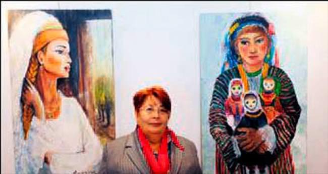 Kadın eserleri Hamamönü'nde