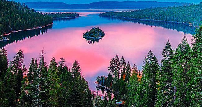 Tahoe her mevsim güzel