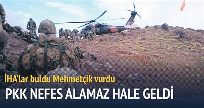PKK'nın nefesi kesildi