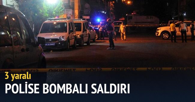Nusaybin'de polise bombalı saldırı: 3 yaralı