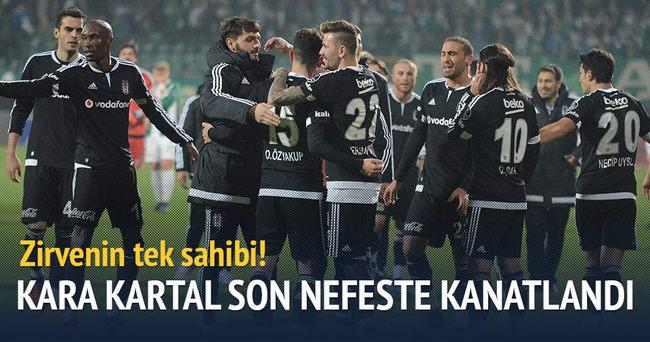 Beşiktaş Bursa'yı son nefeste yıktı