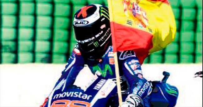 Moto GP'nin kralı Lorenzo oldu