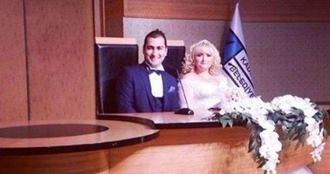 Çocuk yıldız Jale Azaklı evlendi