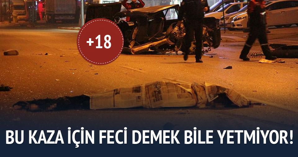 Bursa'da feci ölüm!
