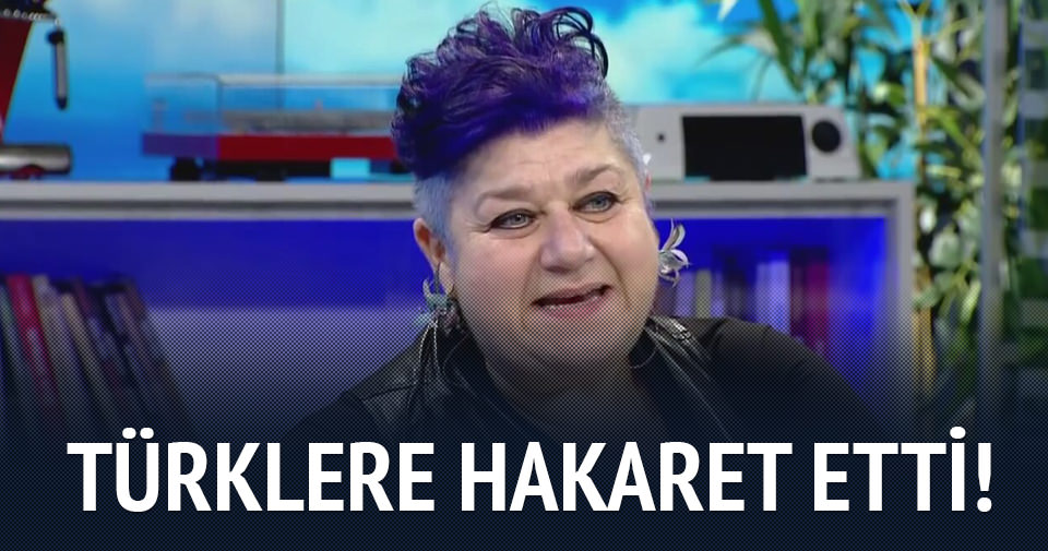 Serra Yılmaz'dan Türklere hakaret!