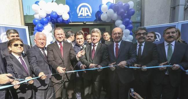 TRT ve AA'nın Üsküp ofisi açıldı!