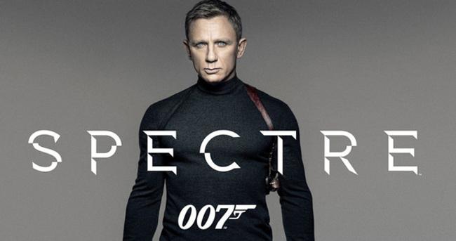 James Bond macerası Spectre gişeleri fethetti!