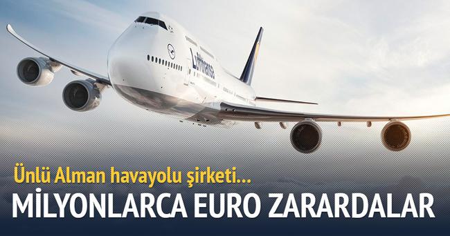 Lufthansa'da grev sürüyor