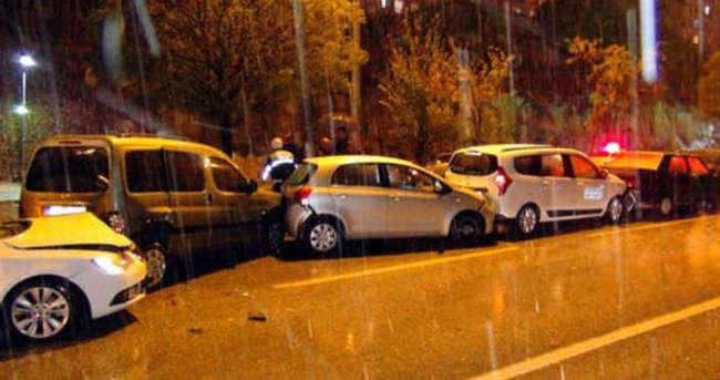 Ve şehir merkezlerine yılın ilk karı düştü