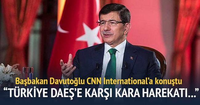Başbakan'dan DAEŞ'e karşı kara operasyonu yorumu