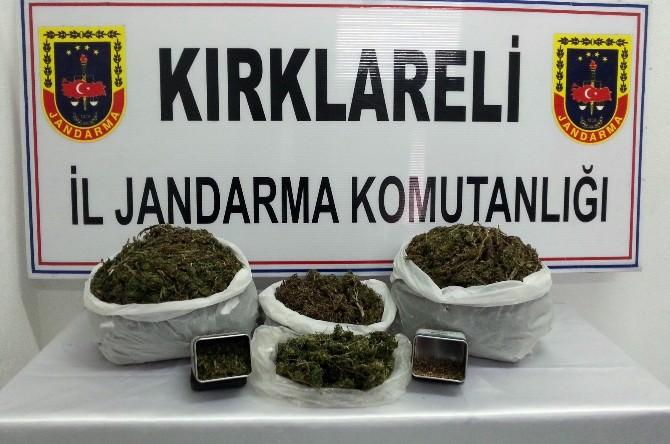 Kırklareli'de Uyuşturucu Baskını
