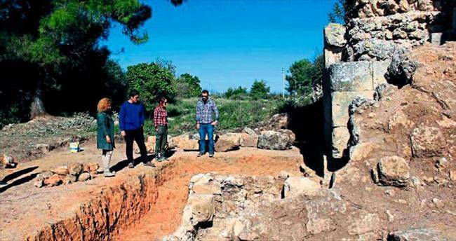 Evdirhan'daki kazı çalışması tamamlanıyor