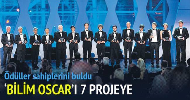 'Bilim Oscar'ı 7 projeye