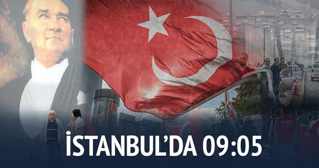 İstanbul'da 09:05