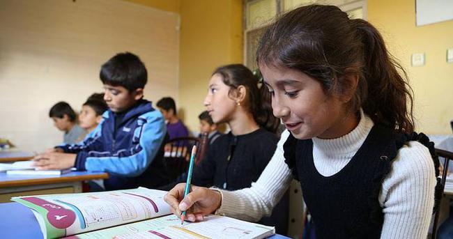 Hatay'da Suriyeli çocuklar için okul