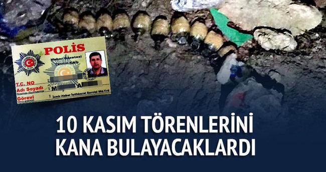 İzmir'de bombalı eylem hazırlığındaki 5 terörist yakalandı