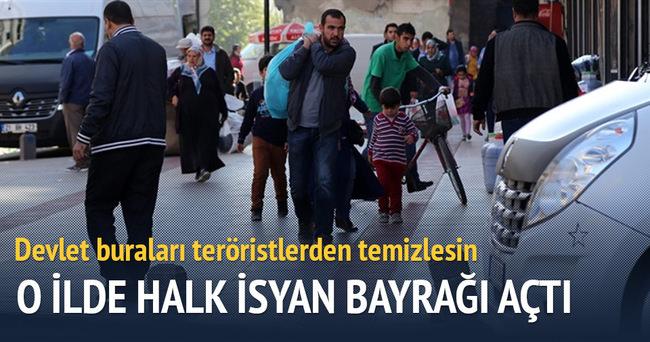 Diyarbakırlılar PKK'dan bıktı