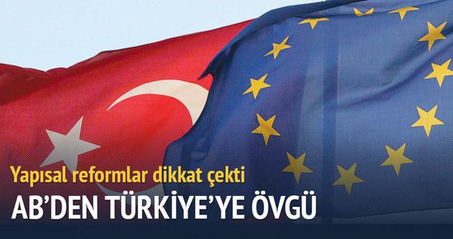 AB İlerleme Raporu'nda Türkiye'nin reformlarına övgü
