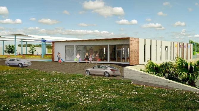Yeni Mahalle'ye 2 Milyon TL'lik Proje