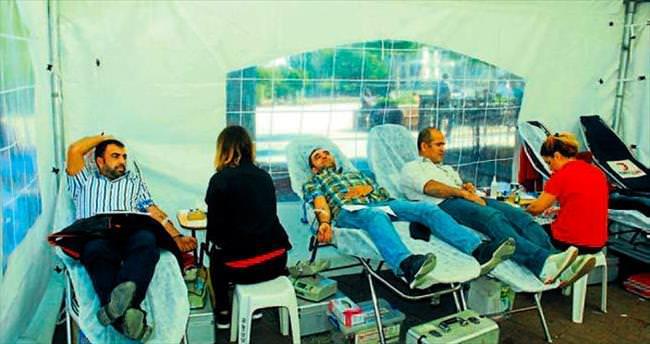 Manavgat'ta bin ünite kan bağışı yapıldı