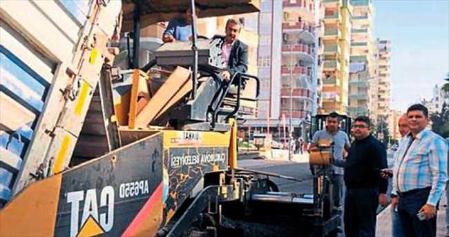 Çukurova'da asfalt seferberliği başladı