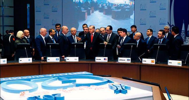 G20 NATO gibi dünyaya örnek olmalı
