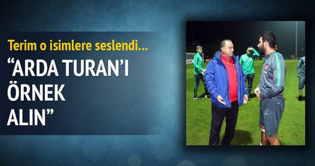 Arda Turan'ı örnek alın!