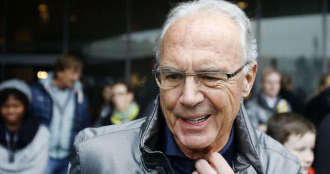 Beckenbauer, rüşvet iddiaları hakkında konuşmalı
