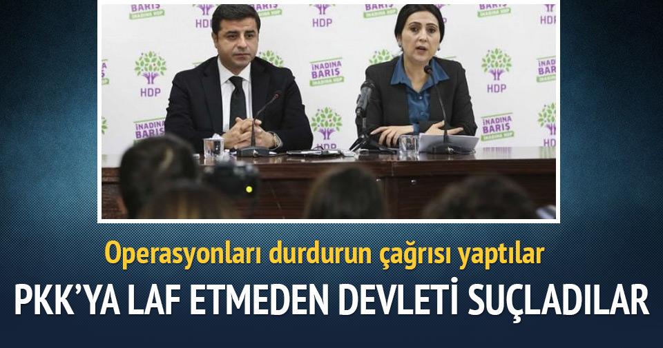PKK'ya tek laf etmeden devleti suçladı!