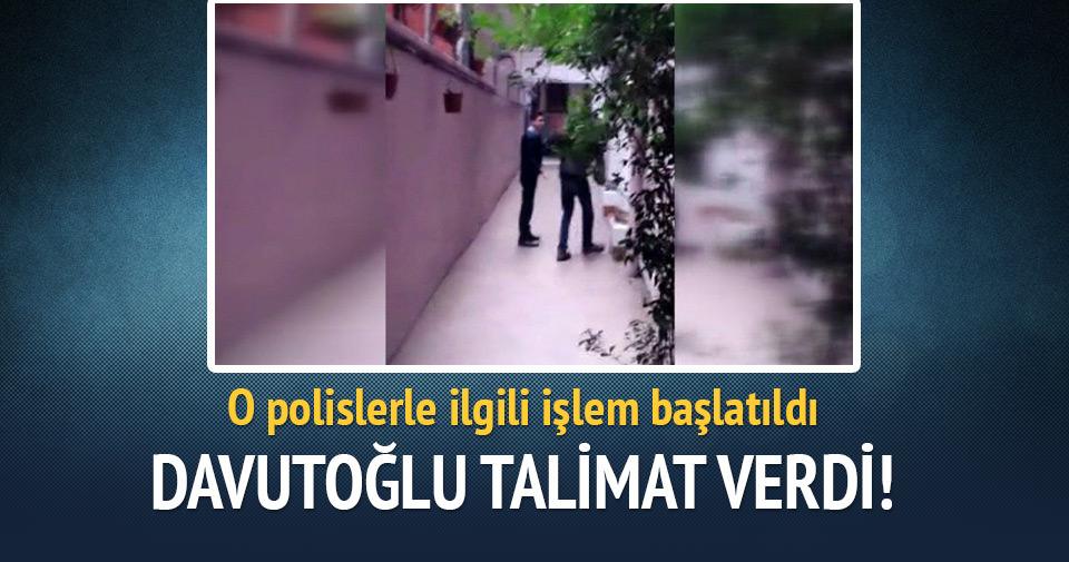 Başbakan Davutoğlu'ndan o polisler hakkında inceleme talimatı