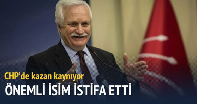 CHP Genel Başkan Yardımcısı istifa etti
