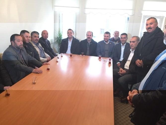 AK Parti Milletvekilleri Teşekkür Ziyaretlerine Devam Ediyor