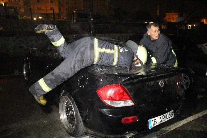 Bursa'da Patlama Son Anda Önlendi