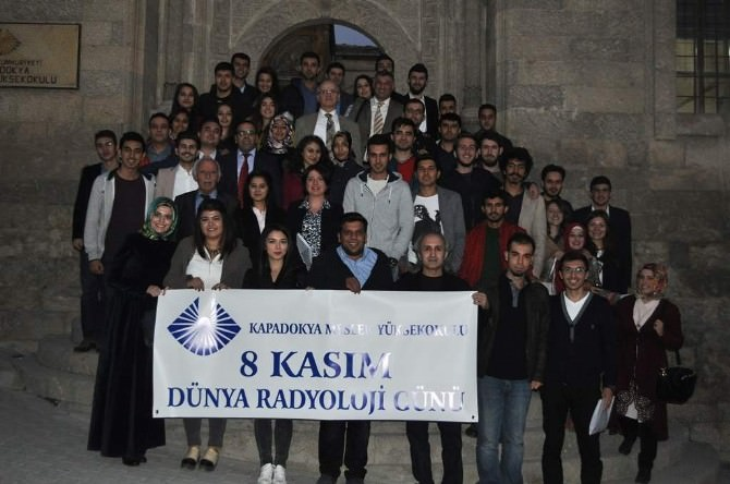 Kapadokya MYO Dünya Radyoloji Gününü Kutladı