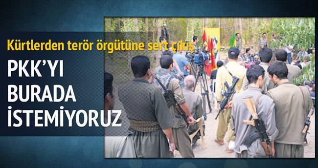 PKK'yı Sincar'da istemiyoruz