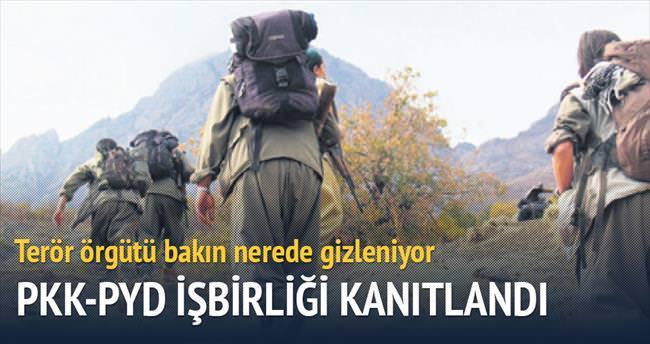 PYD'den PKK'ya silah ve sığınak