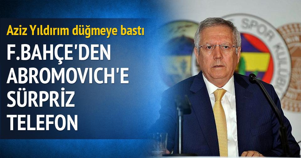 Fenerbahçe'den Abramovich'e Mourinho telefonu