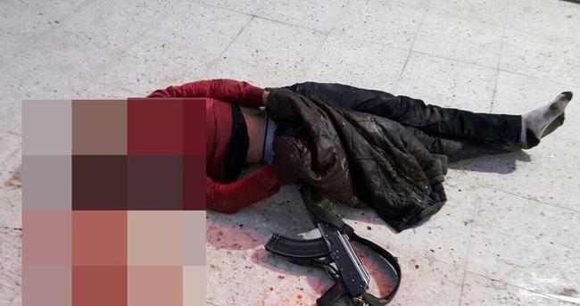 Silopi'de çıkan çatışmada bir PKK'lı terörist öldürüldü