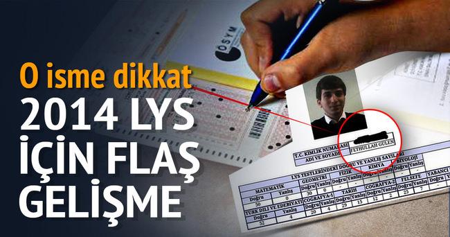2014 LYS için soruşturma başlatıldı