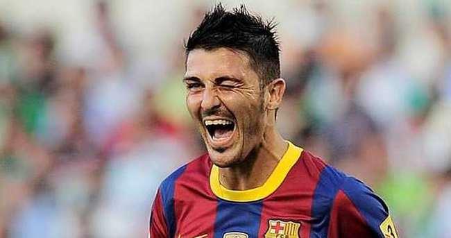 David Villa Galatasaray yolunda
