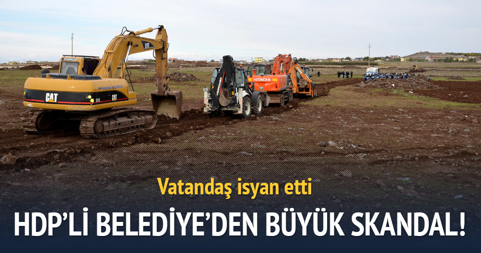 HDP'ye oy vermeyenlerin arazisi gasp edildi