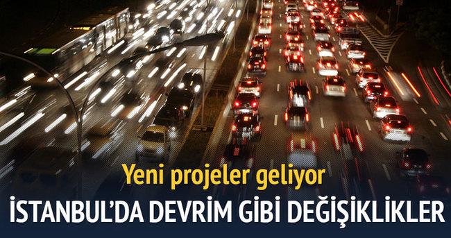 İstanbul trafiğinde devrim gibi değişiklik kapıda