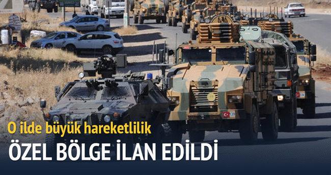 Şırnak'ta bazı bölgeler özel güvenlik bölgesi ilan edildi