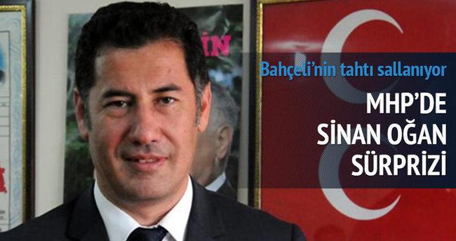 MHP'de Sinan Oğan sürprizi