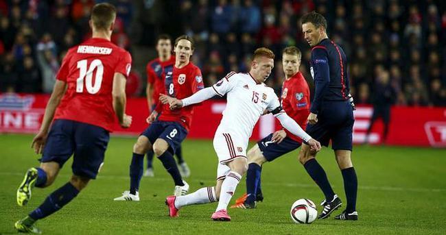Macaristan Norveç'i sahasında yendi