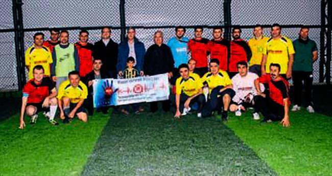 Organ nakli için futbol turnuvası
